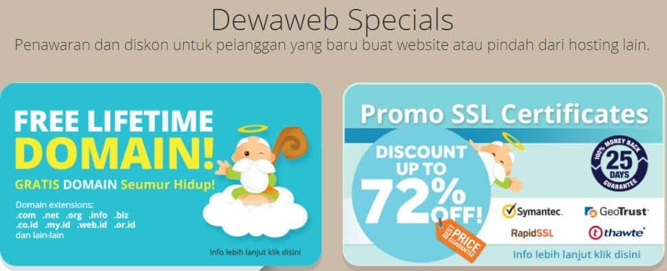 Dewaweb Promo