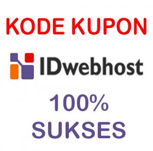 kode kupon idwebhost